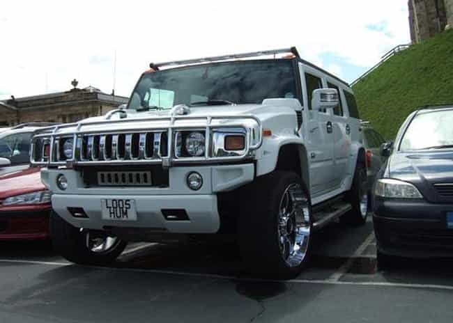 Hummer H2 Is Listed Or Ranked 1 On The List Full Of
