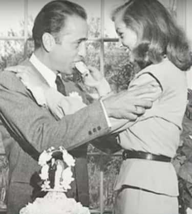 Humphrey Bogart And Lauren Bacall - Ohio, 1945