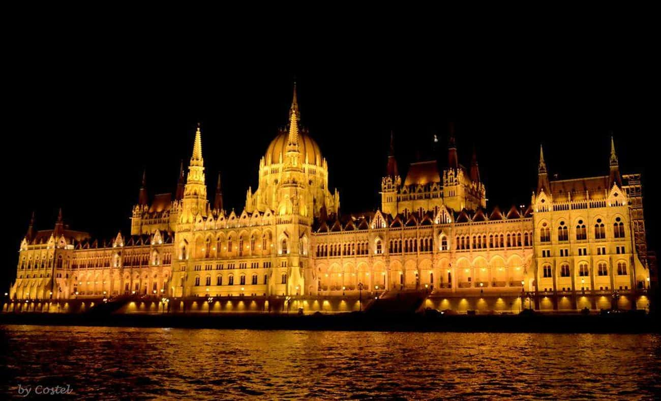 Hungarian Parliament Building is listed (or ranked) 3 on the list The Most Beautiful Buildings in the World
