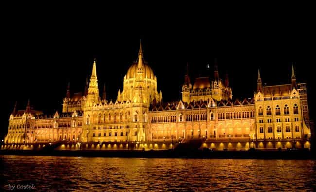 Hungarian Parliament Building is listed (or ranked) 4 on the list The Most Beautiful Buildings in the World