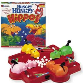 Hungry Hungry Hippos is listed (or ranked) 14 on the list The Best Games for Kids