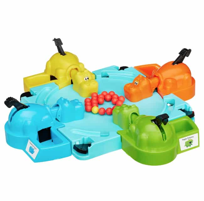 Hungry Hungry Hippos is listed (or ranked) 1 on the list 20 Annoying Toys That Prove Your Parents Loved You