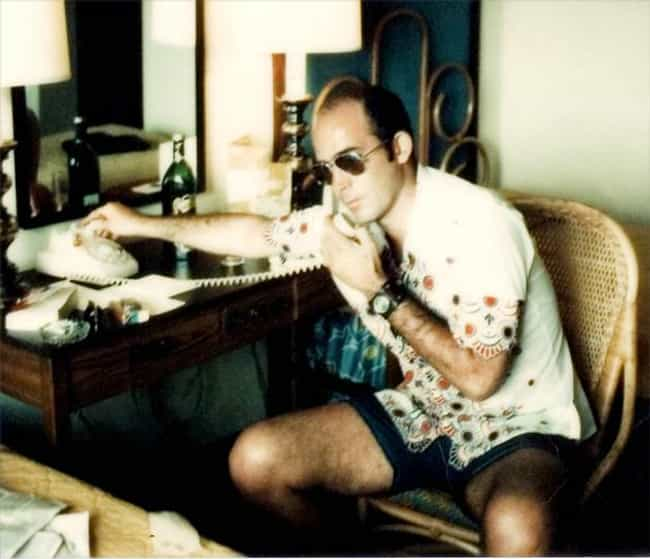 Hunter S. Thompson is listed (or ranked) 1 on the list 14 Famous People Who Have PhDs