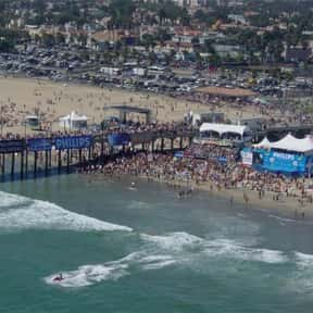 Huntington Beach is listed (or ranked) 3 on the list The Best Beaches for Surfing in the World