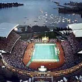 Husky Stadium is listed (or ranked) 12 on the list The Best College Football Stadiums