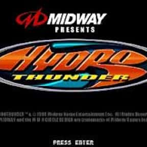 Hydro Thunder is listed (or ranked) 10 on the list The Best Arcade Racing Games Of All Time