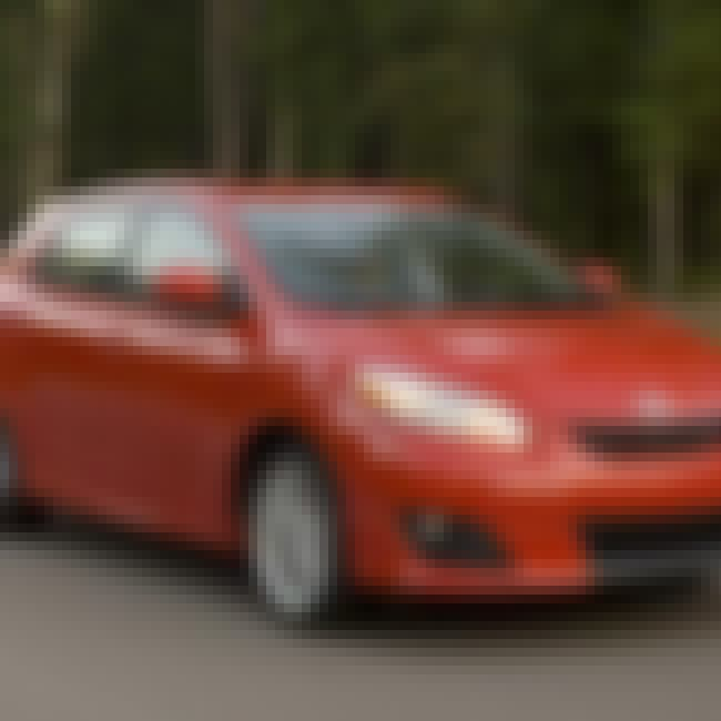 2009 Toyota Matrix is listed (or ranked) 7 on the list List of Popular Toyota Hatchbacks