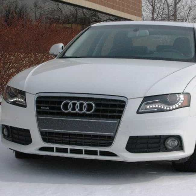 2009 Audi A4 Sedan is listed (or ranked) 2 on the list The Best Audi A4s of All Time