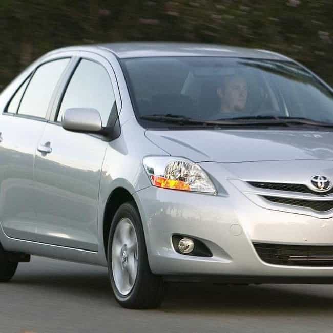 2008 Toyota Yaris Sedan ... is listed (or ranked) 3 on the list The Best Toyota Yariss of All Time