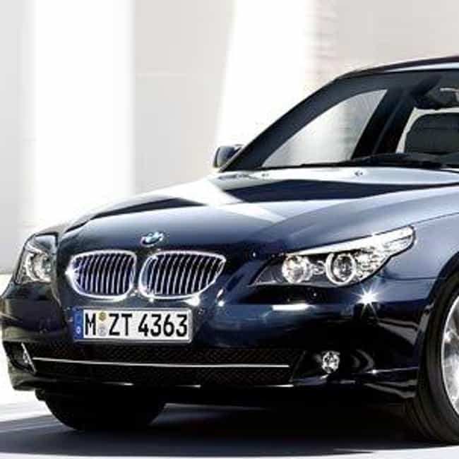 2007 BMW 5 Series Sedan is listed (or ranked) 2 on the list The Best BMW 5 Series of All Time