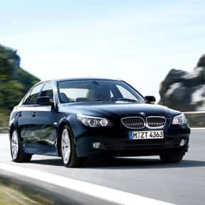 2008 BMW 5 Series Sedan is listed (or ranked) 3 on the list The Best BMW Sedans of All Time