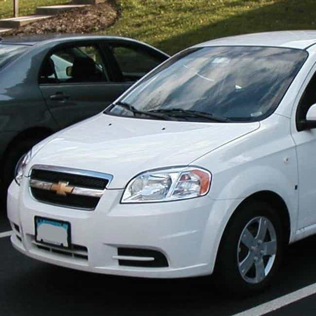 2007 Chevrolet Aveo is listed (or ranked) 2 on the list List of 2007 Chevrolets