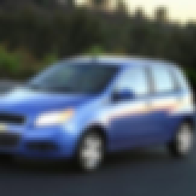2008 Chevrolet Aveo5 is listed (or ranked) 4 on the list List of Popular Chevrolet Aveos