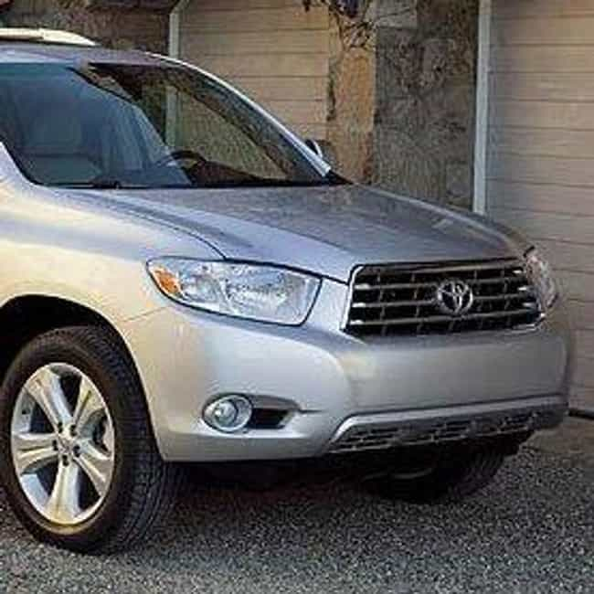 2008 Toyota Highlander Is Listed Or Ranked 2 On The List Best