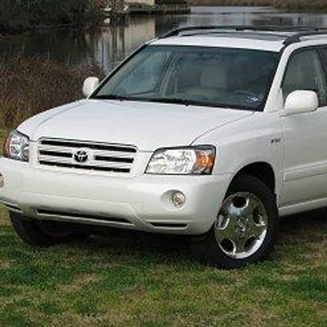 2007 Toyota Highlander ... is listed (or ranked) 1 on the list The Best Toyota Highlanders of All Time