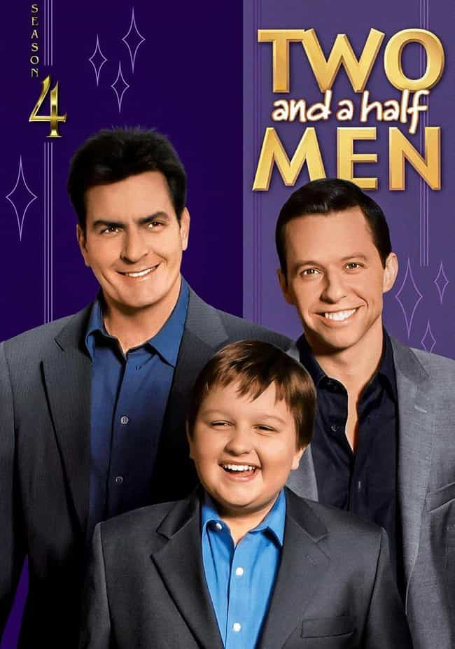 Two and a Half Men - Sea... is listed (or ranked) 4 on the list The Best Seasons of 'Two And A Half Men'