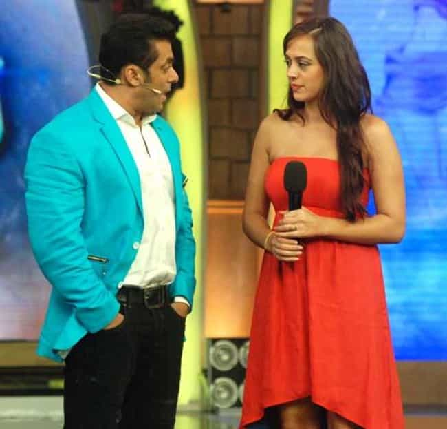 Hazel Keech is listed (or ranked) 1 on the list Salman Khan's Loves & Hookups