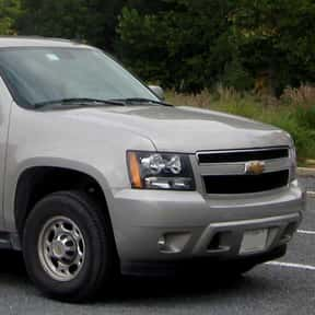 2008 Chevrolet Suburban is listed (or ranked) 23 on the list The Best Sport Utility Vehicles of All Time