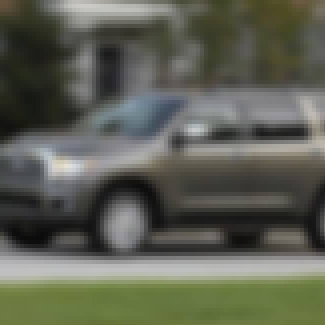 2007 Toyota Sequoia is listed (or ranked) 5 on the list List of Popular Toyota Sport utility vehicles