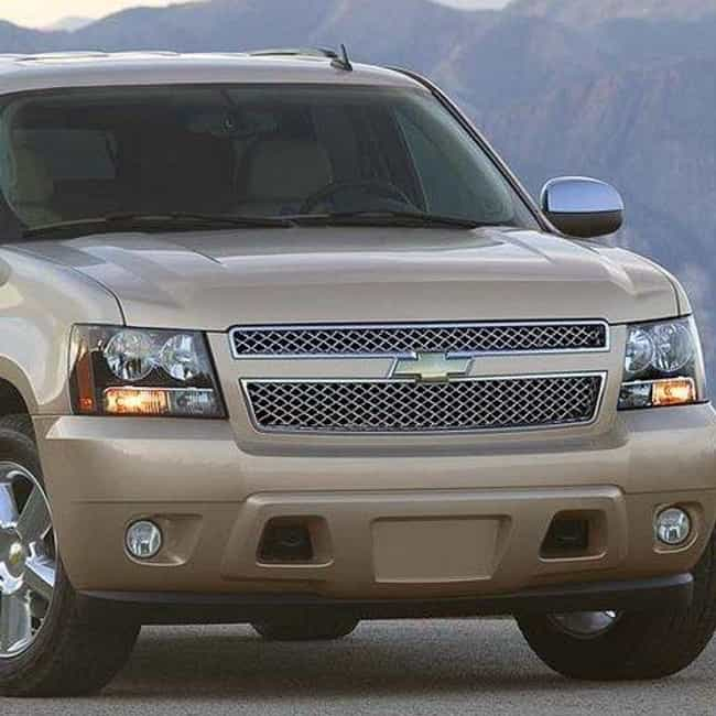 2008 Chevrolet Tahoe is listed (or ranked) 4 on the list The Best Chevrolet Tahoes of All Time