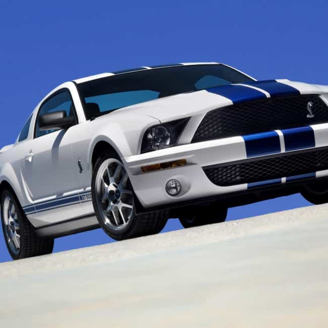 2007 Ford Shelby GT500 Coupe Is Listed Or Ranked 2 On The List