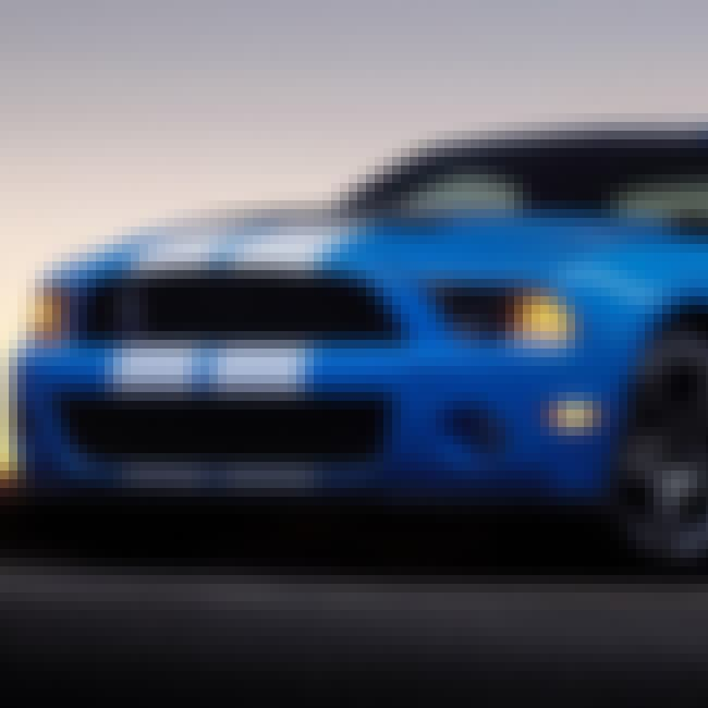 2008 Ford Shelby GT500 Coupé is listed (or ranked) 4 on the list List of Popular Shelby Mustangs