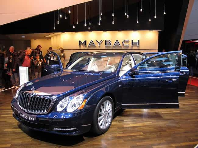 Maybach 62 is listed (or ranked) 2 on the list Full List of Maybach Models