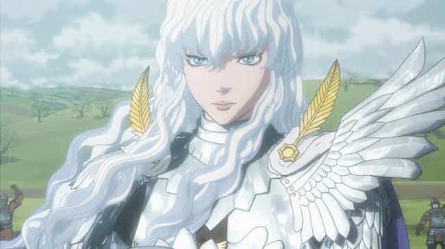 Griffith is listed (or ranked) 1 on the list 15 Good Anime Characters Who Broke Bad And Became Villains