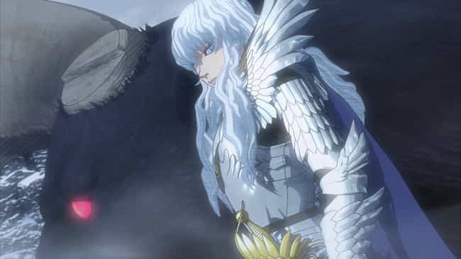 Griffith is listed (or ranked) 1 on the list The 15 Worst Anime Friends That Don't Deserve Anyone