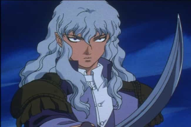 Griffith is listed (or ranked) 3 on the list The 14 Most Underrated Anime Villains Who Don't Get Enough Credit