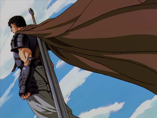 Guts is listed (or ranked) 1 on the list The 20 Manliest Anime Men Of All Time