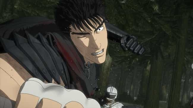 Guts is listed (or ranked) 3 on the list 14 Anime Characters Who've Experienced Life-Altering Trauma