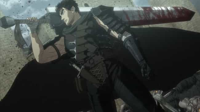 Guts is listed (or ranked) 2 on the list 14 Times Anime Heroes Were Guilty Of Awful Things