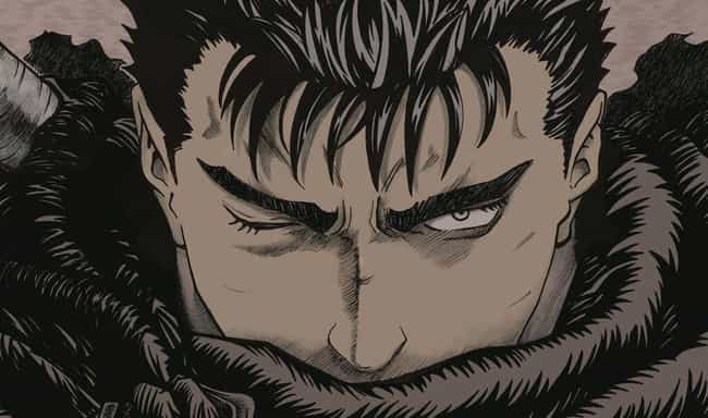 Guts is listed (or ranked) 2 on the list 20 Anime Characters with Big-Time Parent Issues