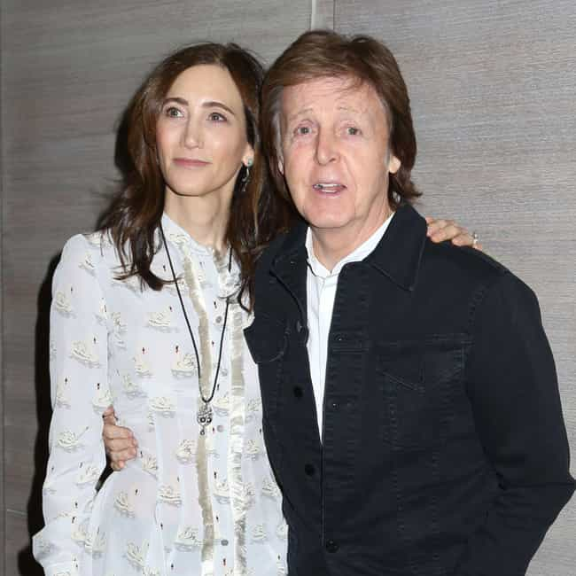 Nancy Shevell is listed (or ranked) 1 on the list Paul McCartney Relationship History