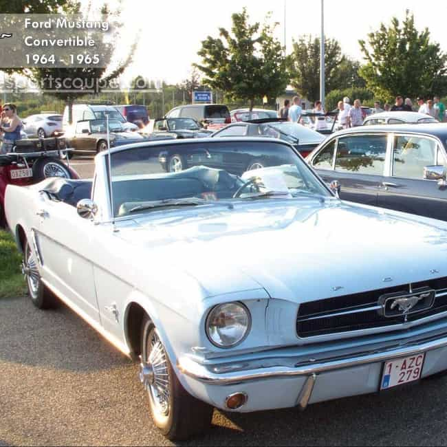 1965 Ford Mustang 1964-1... is listed (or ranked) 3 on the list List of All Cars Made in 1965
