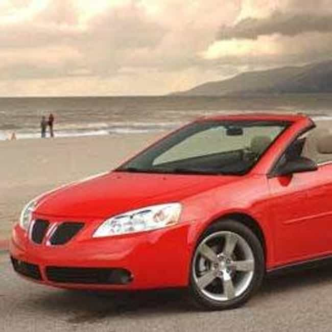 2007 Pontiac G6 Converti... is listed (or ranked) 2 on the list List of 2007 Pontiacs