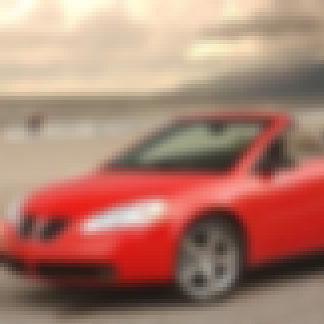 2006 Pontiac G6 Convertible is listed (or ranked) 1 on the list List of 2006 Pontiacs