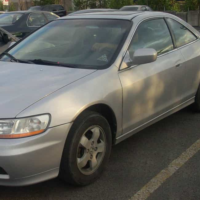 2001 Honda Accord Coupé is listed (or ranked) 1 on the list List of 2001 Hondas