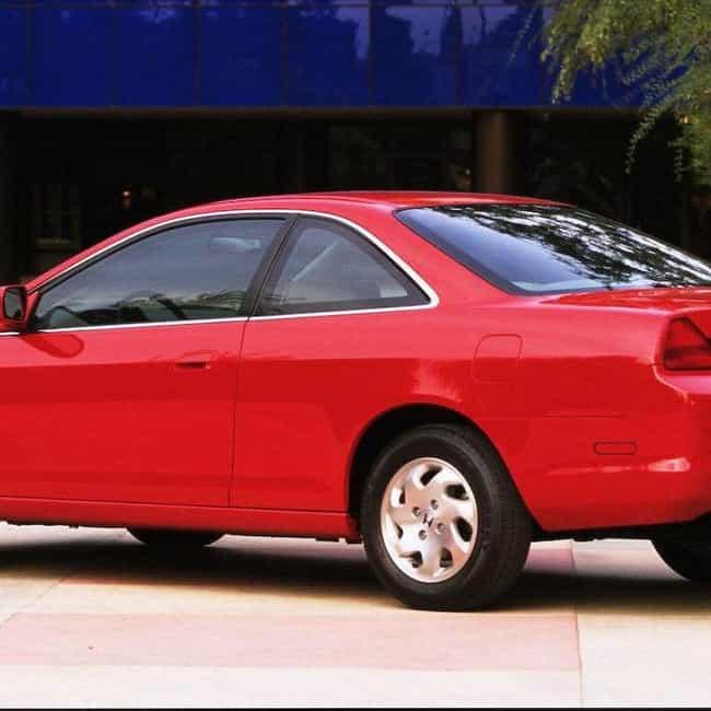 2000 Honda Accord Coupé is listed (or ranked) 1 on the list List of 2000 Hondas