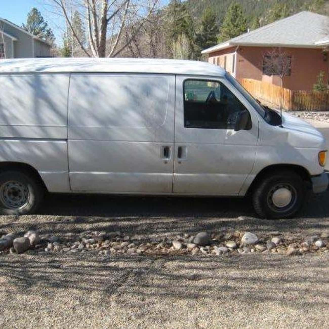 2002 Ford E150 Van is listed (or ranked) 2 on the list List of 2002 Fords