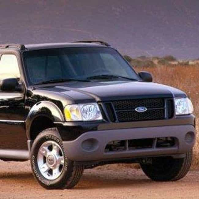 2001 Ford Explorer Sport Trac ... is listed (or ranked) 4 on the list The Best Ford Explorer Sport Tracs of All Time