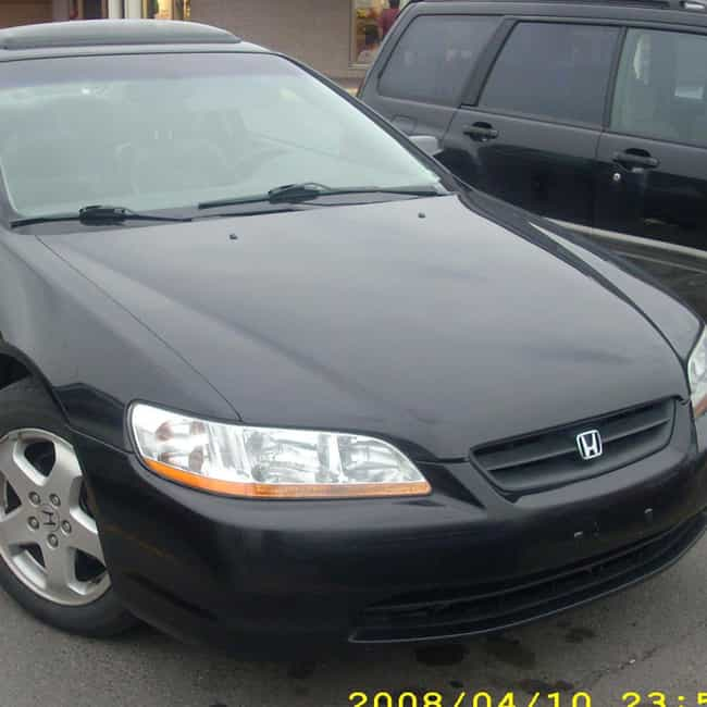 1998 Honda Accord Coupé is listed (or ranked) 4 on the list List of Popular Honda Accords