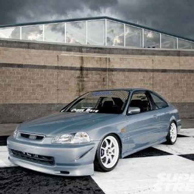 1997 Honda Civic Coupé is listed (or ranked) 1 on the list List of Popular Honda Civics
