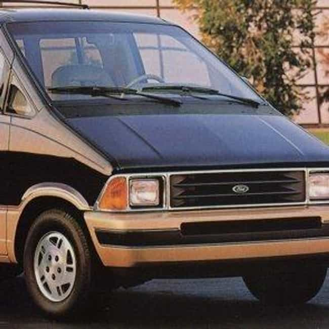 1990 Ford Aerostar Wa Is Listed Or Ranked 1 On