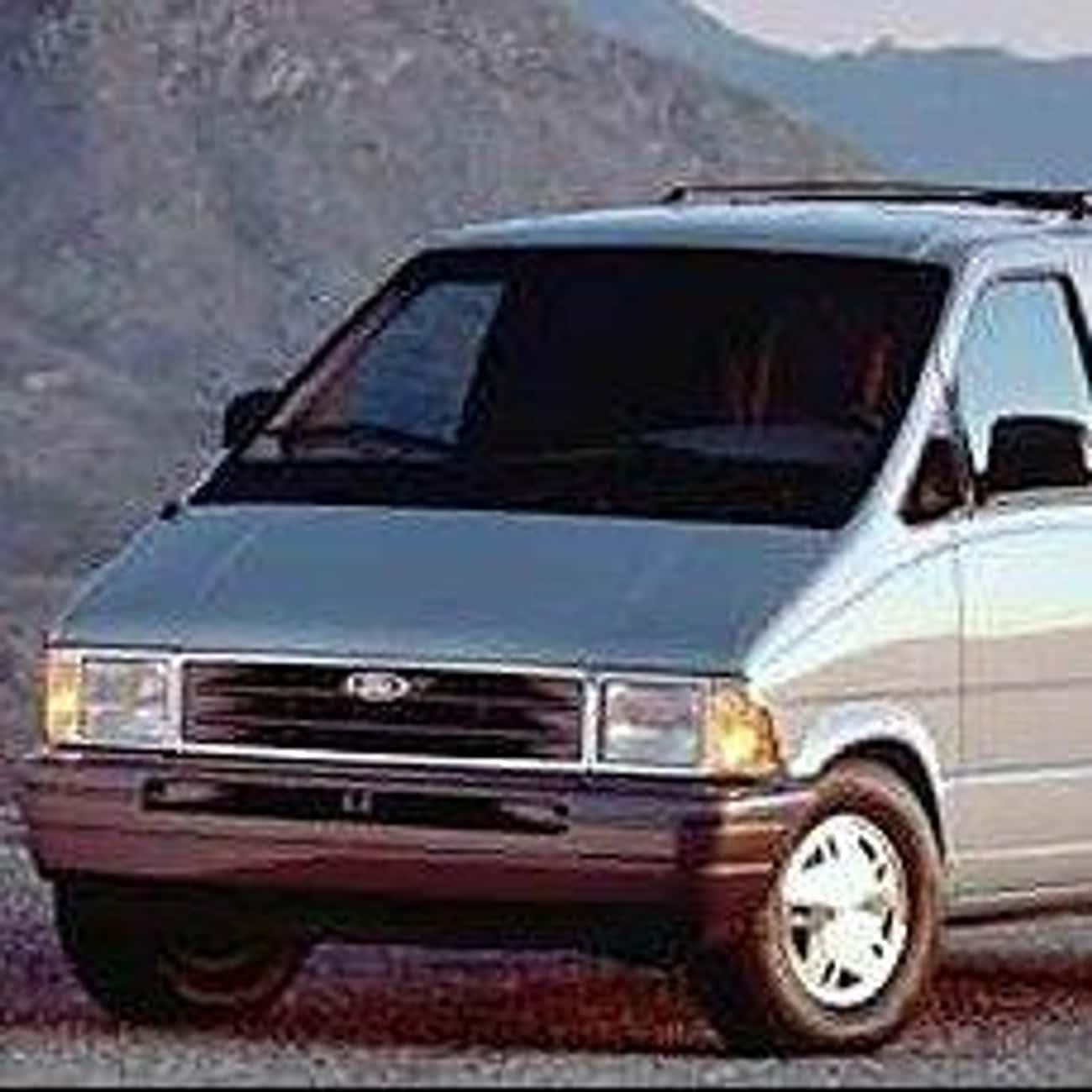1989 Ford Aerostar Minivan