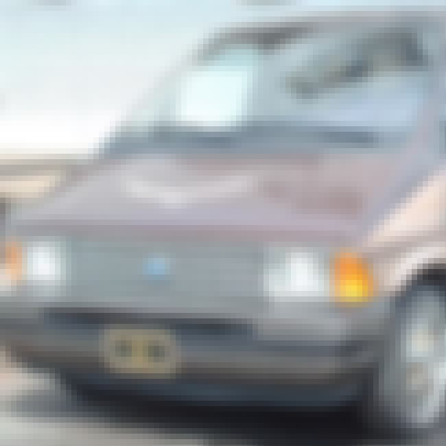 1991 Ford Aerostar Station Wag... is listed (or ranked) 4 on the list List of 1991 Fords