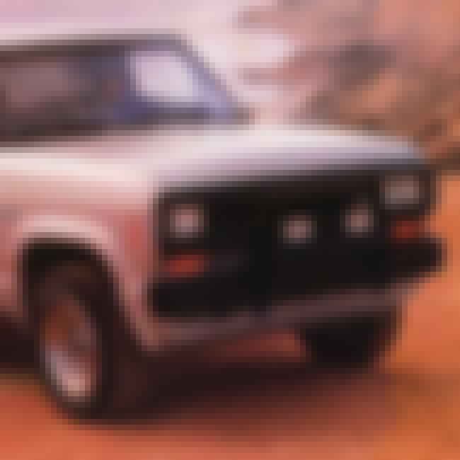 1986 Ford Bronco II SUV 2WD is listed (or ranked) 2 on the list List of Popular Ford Bronco IIs