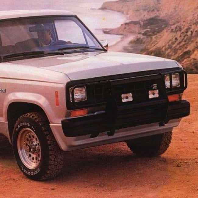 1986 Ford Bronco II SUV 2WD is listed (or ranked) 4 on the list List of 1986 Fords