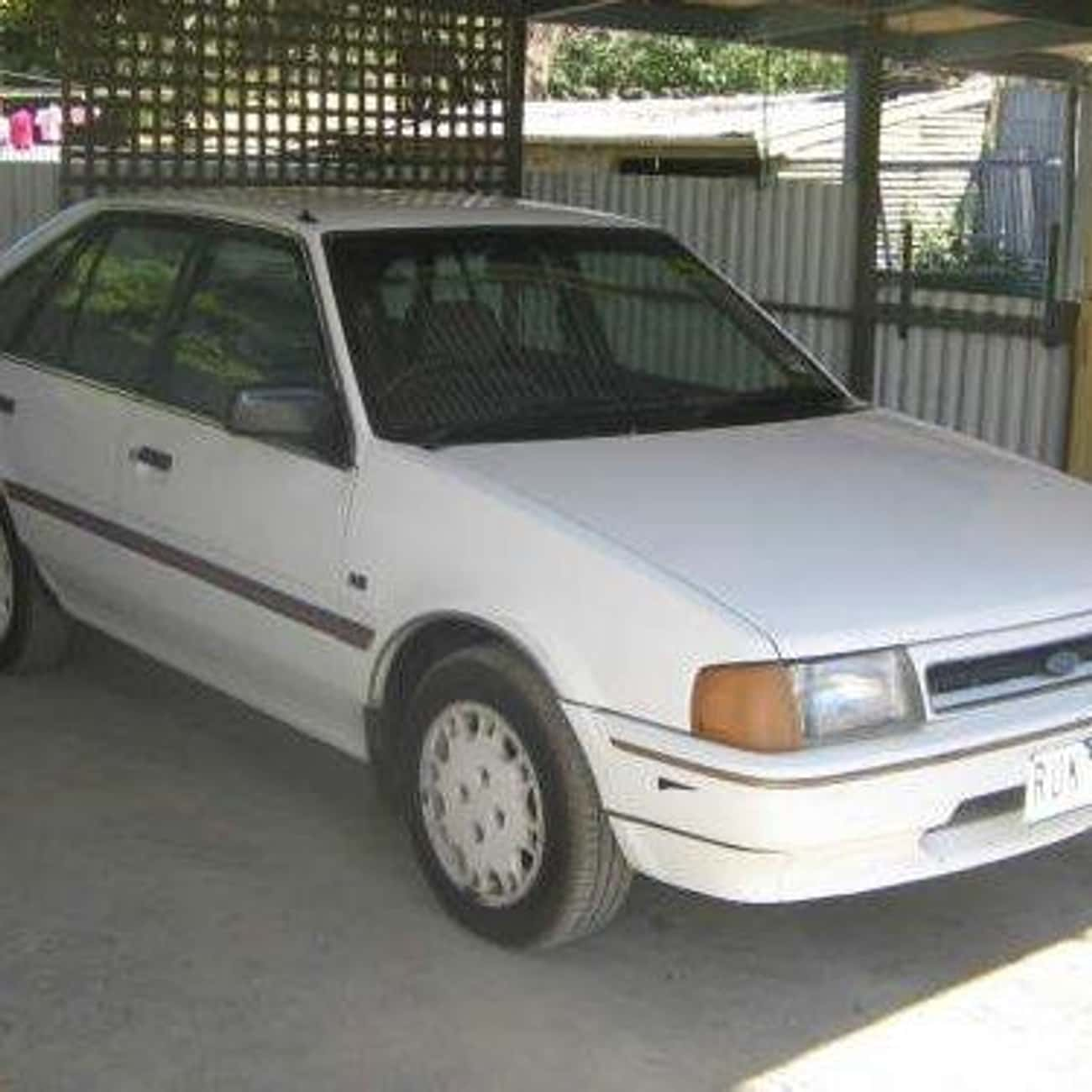 1987 Ford Laser Hatchback is listed (or ranked) 4 on the list List of Popular Ford Lasers